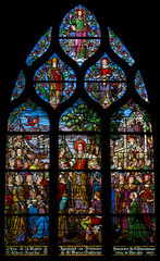 Window depicting St Mary Magdalene's apostleship to Provence