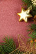 Beautiful Christmas decorations with fir tree