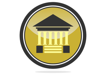 logo architecture ancient partnership  icon vector