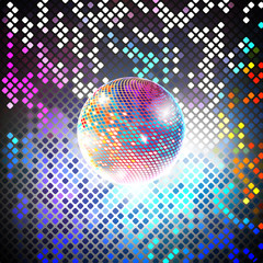 disco party vector background