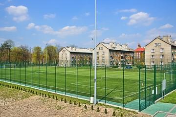 Sport, Soccer field