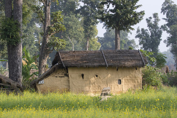 Traditional house in Taru village