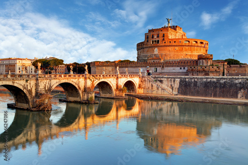 Poster Rome Rome - Castel saint Angelo, Italy