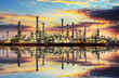Petrochemical industry - Oil refinert