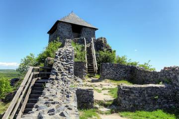 Salgo vara castle, Hungary