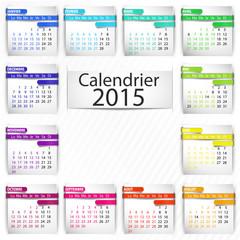 calendrier 2015 (format carré) ruban 3d
