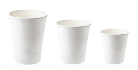 paper take away coffee cups