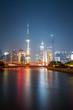 beautiful shanghai at night