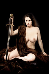 Warrior woman.