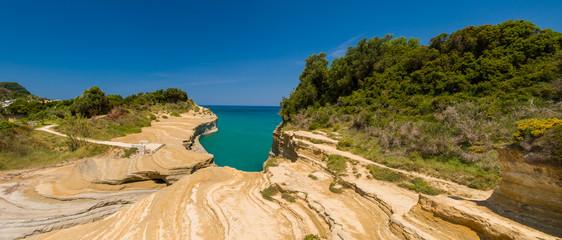 SIdari on the island of Corfu