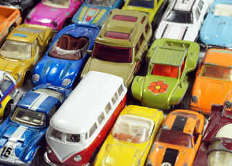 Vintage little toy cars