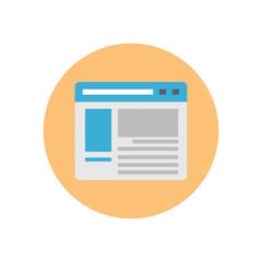 Browser - Vector icon