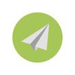 Paper Plane - Vector icon