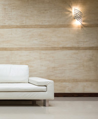 White sofa in modern interior