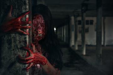 Suicidal girl in haunted school