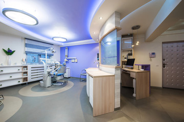 Dentistry office interior