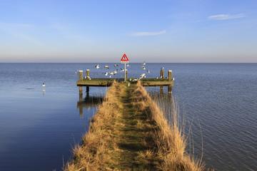 Cais de Marken na Holanda