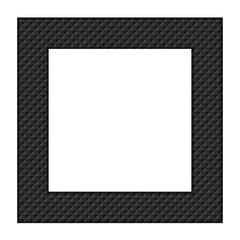Black frame for a photo.
