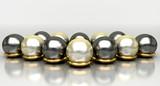 Gioielli, preziosi, perle, oro, gioielleria, anello, collana - 66253620
