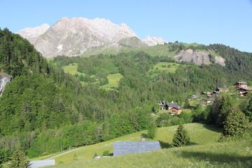 La Giettaz, village du Massif des Aravis