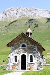 Chapelle du col des Aravis