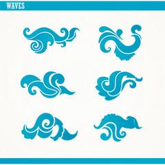 set of waves
