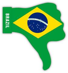 Brasilien Daumen runter, Brazil thumbs down