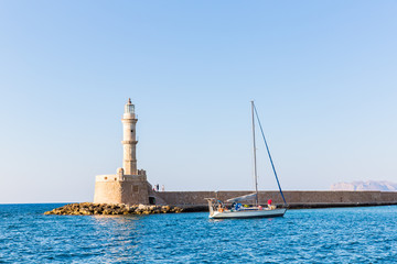 Chania town (Crete,Greece), light house