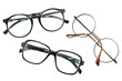 optical vintage glasses isolated - 66256601