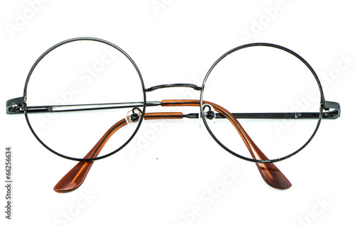 optical vintage glasses isolated - 66256634