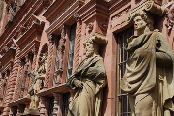 Heidelberger Schloss Ottheinrichsbau Ahnengalerie