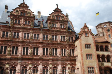 Friedrichsbau Schloss Heidelberg Königstuhl