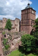 Heidelberger Schloss Heidelberg Baden Württemberg Germany