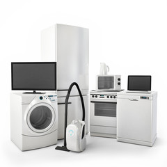 Consumer Electronics Tv Fridge vacuum cleaner Microwave Washer
