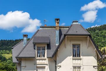toiture et façade
