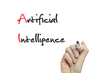 Hand writing artificial intelligence