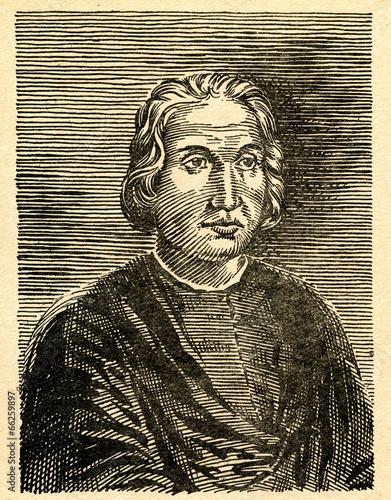 Fotobehang Centraal-Amerika Landen Christopher Columbus, Italian explorer