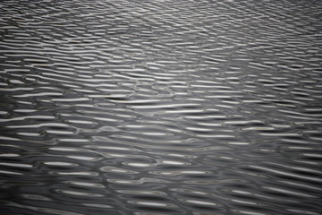 Rippling water surface