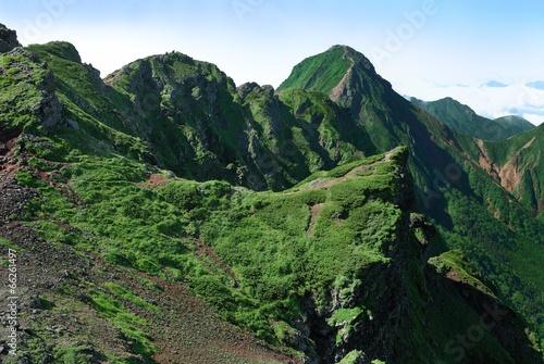 赤岳から横岳(八ヶ岳)
