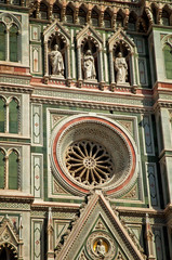 Detail of the dome of Florence