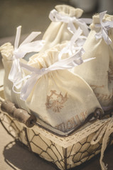 little bags for scented lavender
