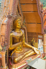 Big golden Buddha