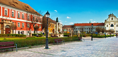 Old town of Tata, Hungary
