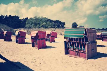 Strandkörbe vintage