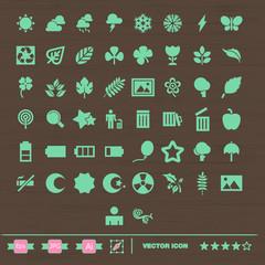 set de iconos