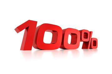 Serie Prozente - 100 Prozent