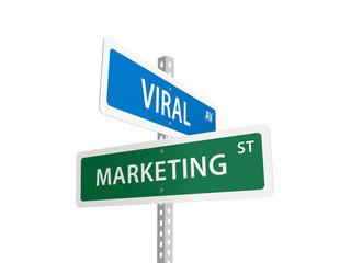 VIRAL MARKETING street signs (strategy e-mail social media)