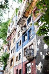 Hundertwasser House in Vienna