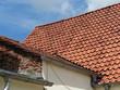 Altbau mit rotbraunem Ziegeldach in Oerlinghausen bei Bielefeld