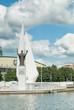 Постер, плакат: Nikolay Chudotvorets Monument Kaliningrad Russia
